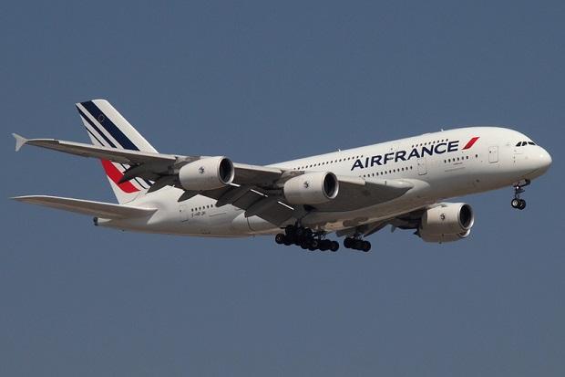 Bijatyka w Air France