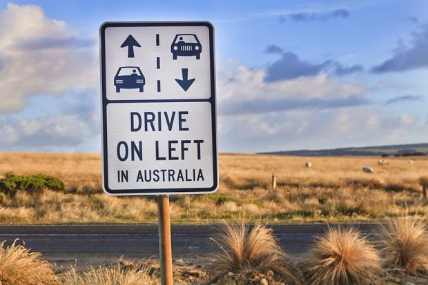 Przejechał maluchem Australię
