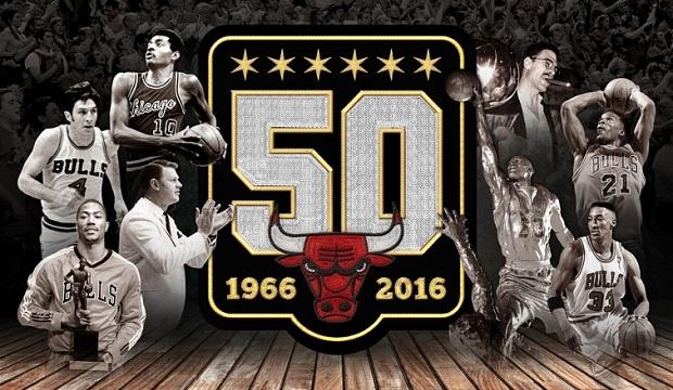 """Chicago Bulls  świętuje  """" pięćdziesiątke """""""
