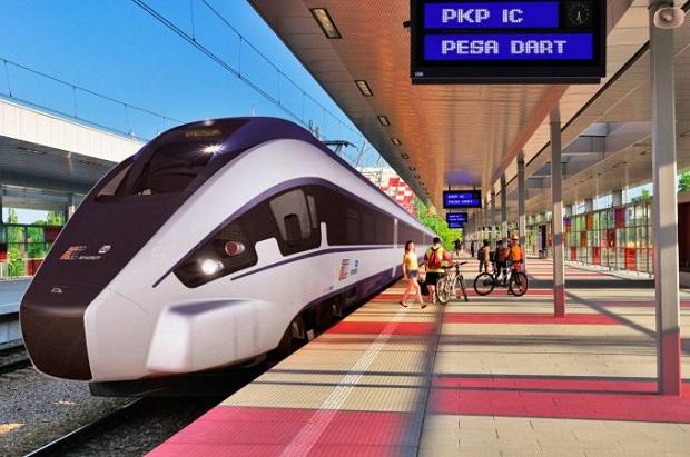"""PKP Intercity żąda odszkodowania za opóźnienie dostaw pociągów """"Dart"""""""