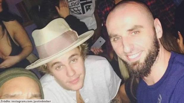 Justin Bieber pochwalił się zdjęciem z Marcinem Gortatem