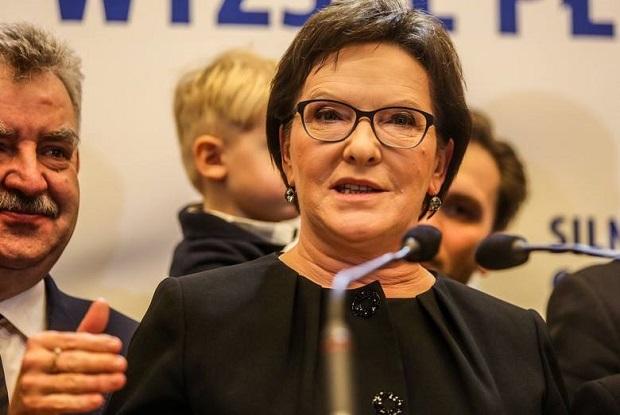 Konwencja PO w Gdańsku. Ewa Kopacz zagrzewała kolegów do walki