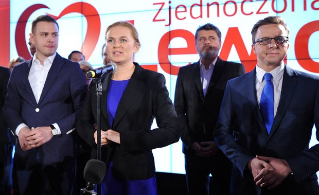 """Lewica przedstawiła swoje """"jedynki"""" na listach wyborczych"""