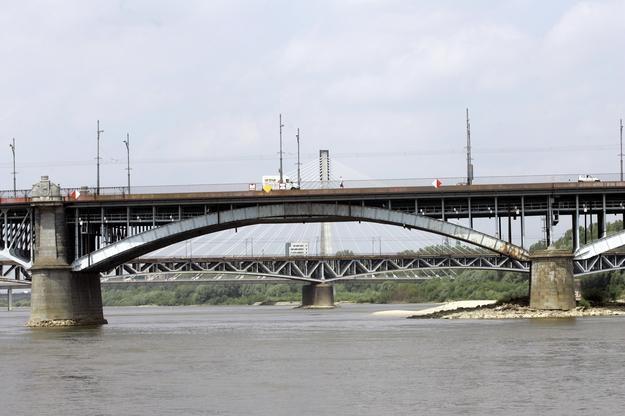 Śledztwo w sprawie pożaru Mostu Łazienkowskiego umorzone