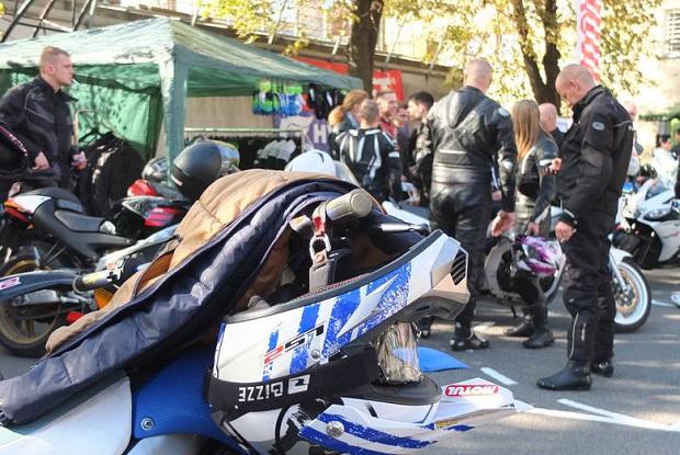 Ponad 200 motocykli przyjechało do centrum Opola