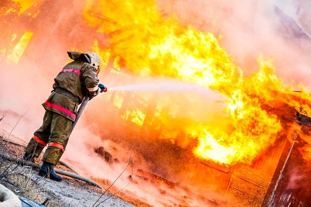 Pożar w gminie Bodzentyn. Zginął 63-latek