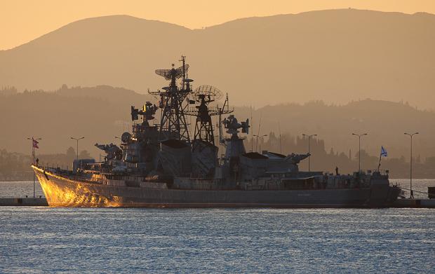 Rosjanie wystrzelili rakiety z okrętów wojennych na Morzu Kaspijskim ( Video)