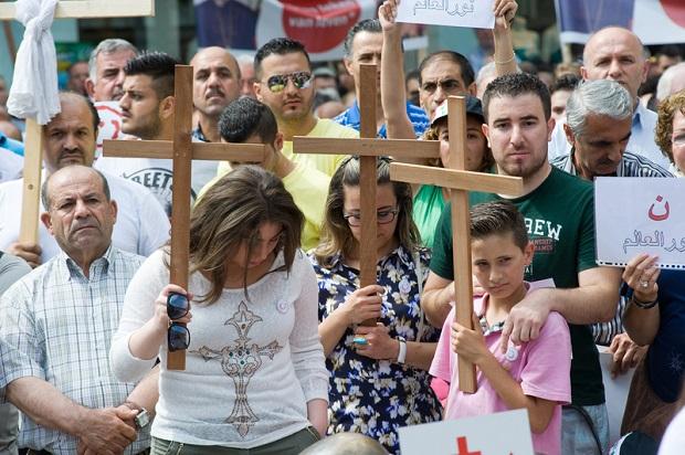 Doniesienia o prześladowaniach  chrześcijan przez islamistów w Syrii mrożą krew w żyłach