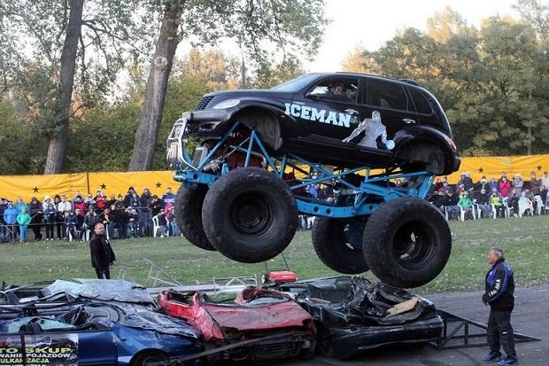 American Monster Truck Motor Show w Łodzi