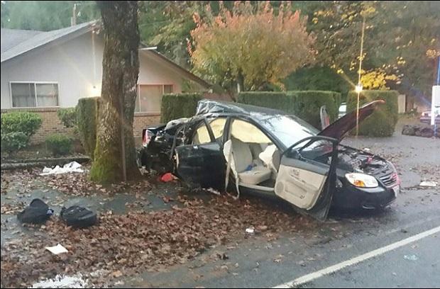 14-latek za kierownicą, 10-letni pasażer nie żyje