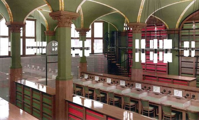 Efektowna biblioteka zamiast restauracji