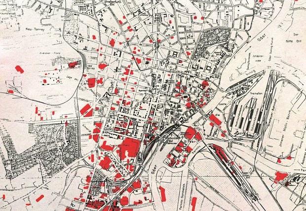 Historyczna sensacja – Brytyjczycy pokazali jak RAF zniszczył Szczecin