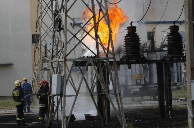 W centrum Łodzi eksplodował transformator