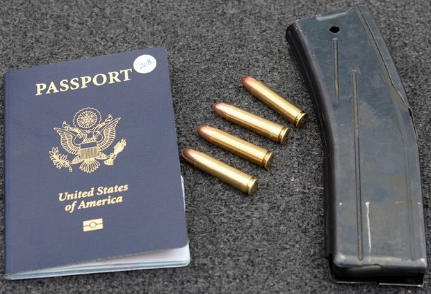 Amunicja w bagażu Amerykanki na lotnisku w Balicach