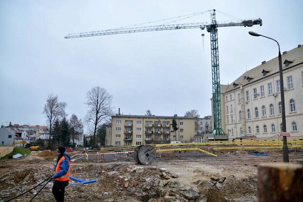 Rozbudowa Szpitala Wojskowego w Lublinie