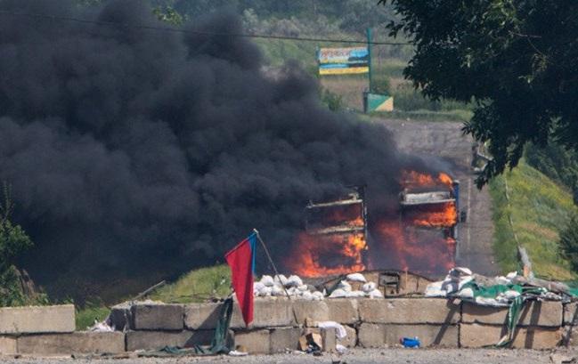 Separatyści znów atakowali w Donbasie
