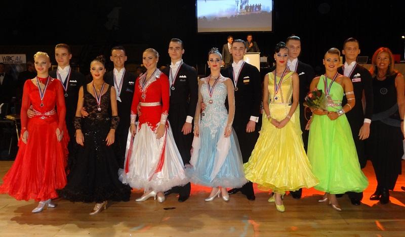 Polonijni tancerze z USA Anna Kaczmarski i Patryk Płoszaj zdeklasowali rywali w Europie