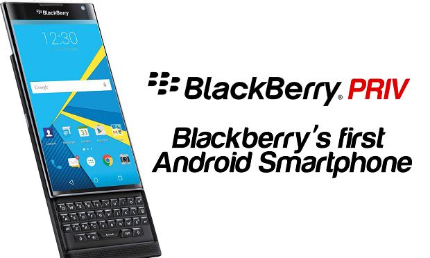 Premiera Smartfona Priv firmy BlackBerry
