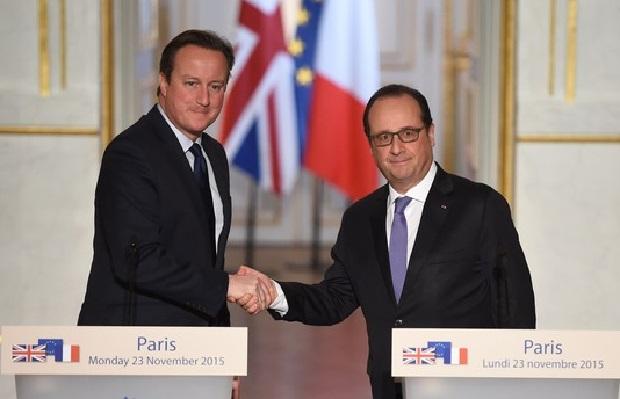 Francja i Wielka Brytania wspólnie walczą z terroryzmem
