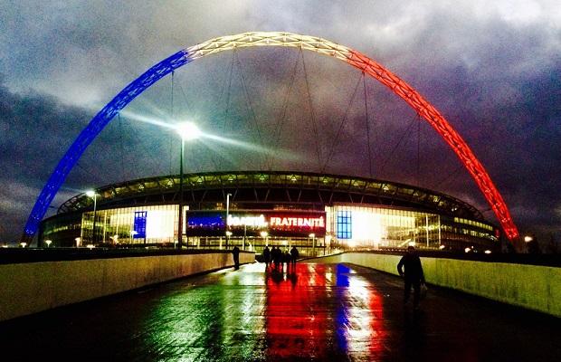 Mecz solidarności w Londynie. Anglia-Francja 2 : 0