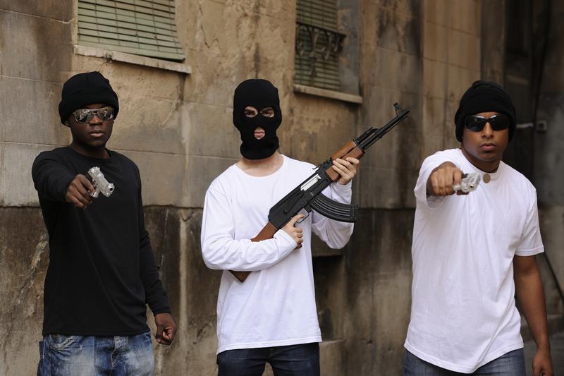 Porachunki gangów na Brooklynie