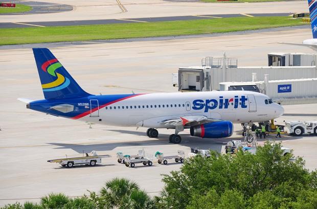 Spirit najgorszą linią lotniczą na świecie
