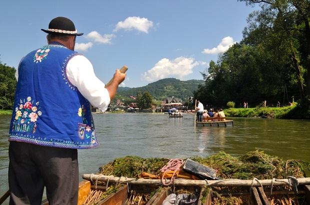 Dziś rozpoczęcie sezonu spływów przełomem Dunajca