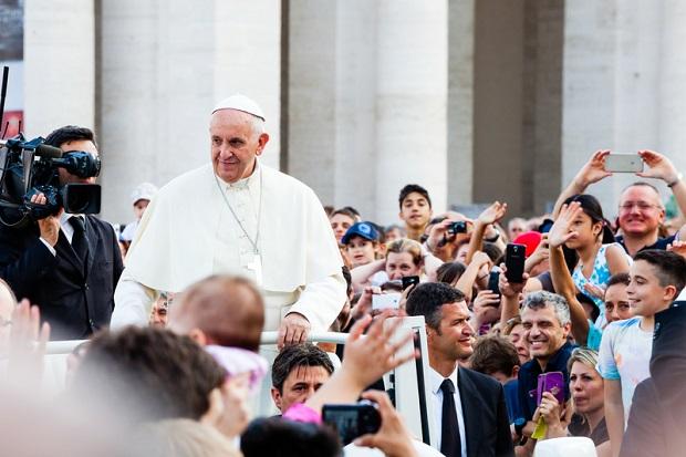 Papież Franciszek w Toskanii