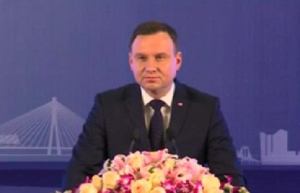 Prezydent Andrzej Duda chce w Chinach pogłębienia relacji gospodarczych