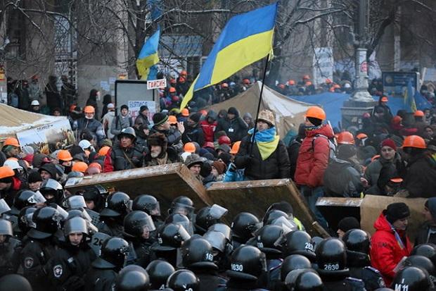 3. rocznica rozpoczęcia protestów na Majdanie