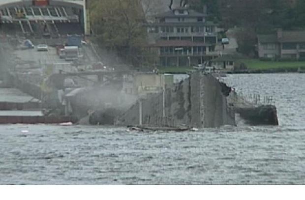 Katastrofa w Seattle. 25 lat temu zatonął most