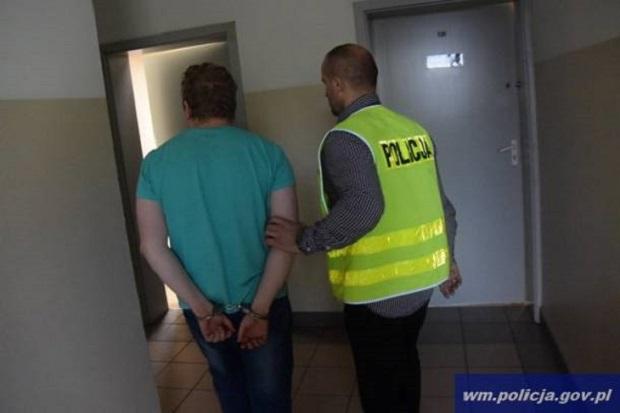 32-latek z Ostródy nagrywał rozebrane dziewczyny. Trafił do aresztu