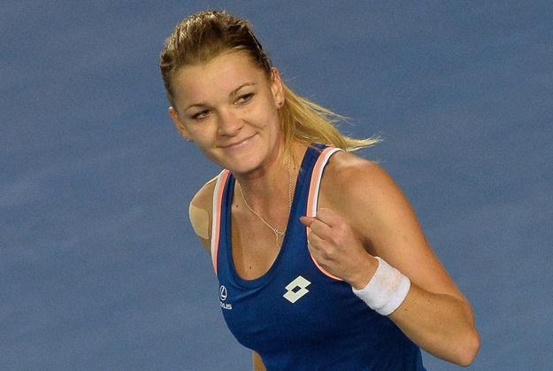 Agnieszka Radwańska w II rundzie turnieju w Tiencin