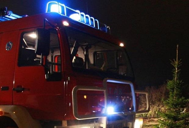 Opolskie: Wypadek wozu Straży Pożarnej, 4 strażaków rannych