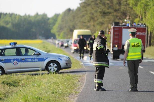 Śmiertelny wypadek z udziałem rowerzysty pod Wołowem