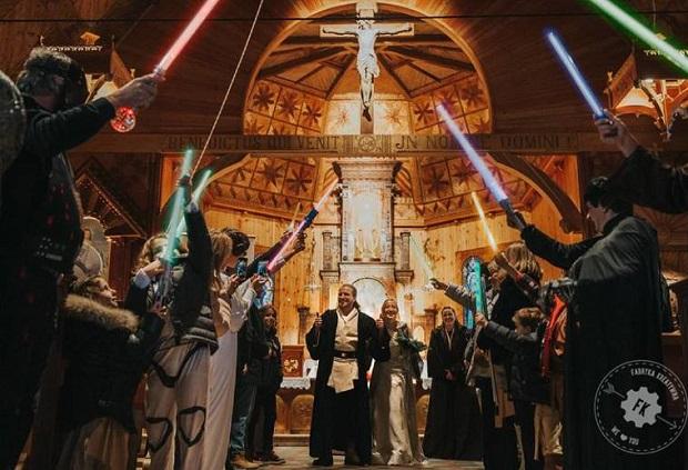 Podhale – ślub w stylu Gwiezdnych Wojen