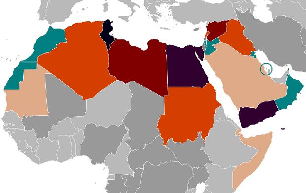 Arabska wiosna kosztuje już ponad 800 miliardów dolarów