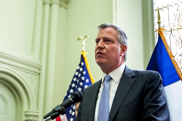 Bill de Blasio wygrał wybory na burmistrza NYC