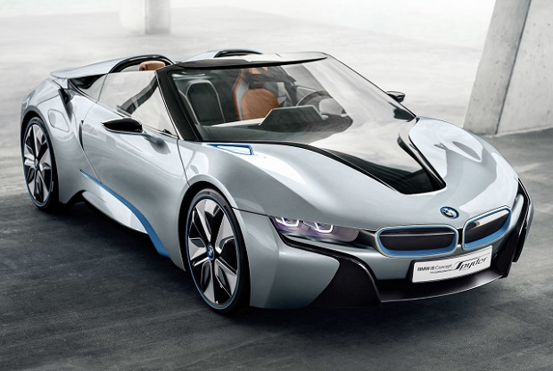 Niebawem wejdzie do produkcji BMW i8 Spyder