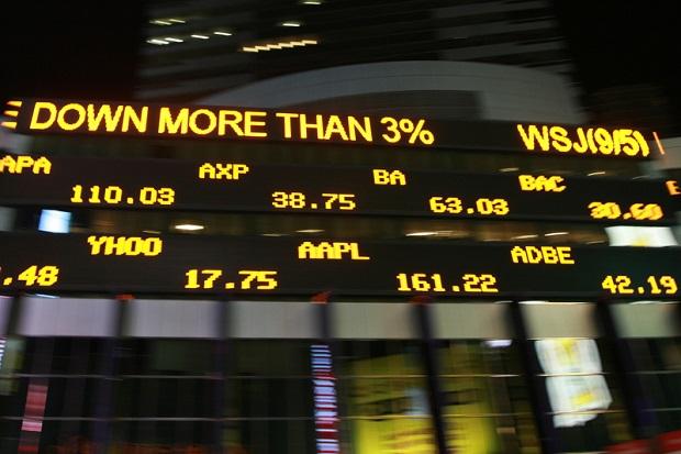 Giełdy kończą rok 2015 spadkami indeksów
