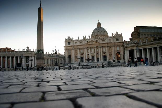 Pielgrzymka więźniów w Watykanie