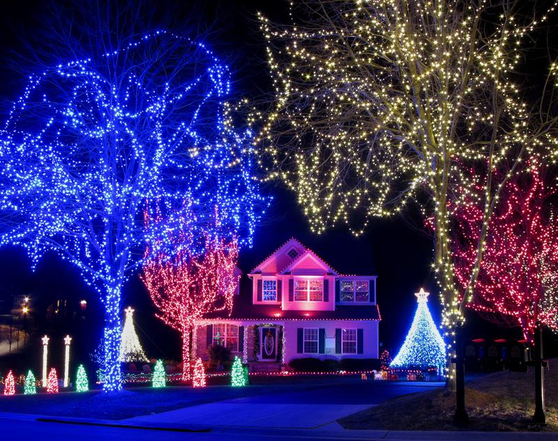 Ile prądu zużyją Amerykanie na świąteczne oświetlenie?