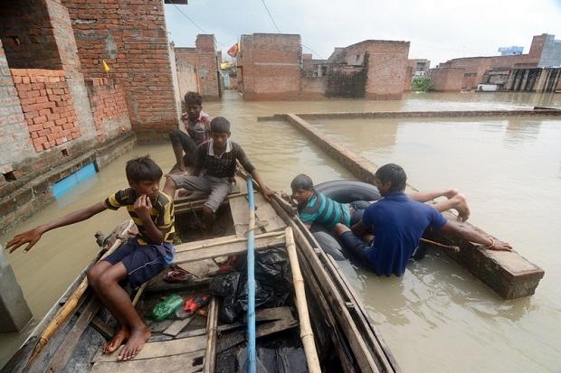 Indie – największa powódź od ponad stulecia