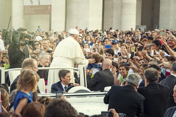 Ponad 3 miliony ludzi widziało w tym roku Papieża Franciszka