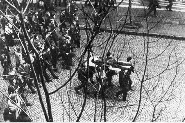 14 grudnia 1970 r. robotnicy wyszli na ulice Gdańska