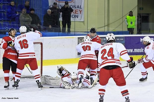Hokej na lodzie. MŚ U-20: Polska wygrała z Ukrainą