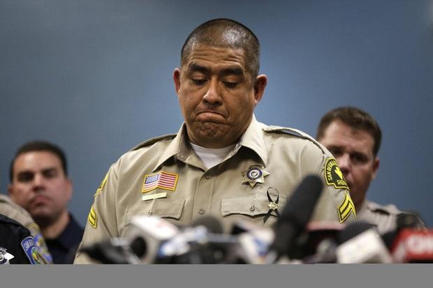 """""""Wezmą za was kulkę"""". Policjant z San Bernardino nie czuje się bohaterem"""