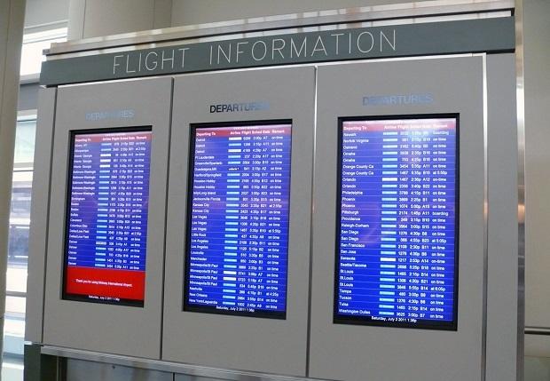 Spóźnił się na samolot, więc uderzył pracownika lotniska…