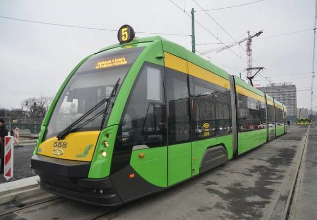 Bimby MPK wróciły po 4 latach na Most Uniwersytecki w Poznaniu