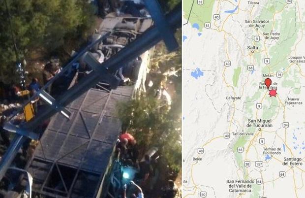 42 ofiary wypadku policyjnego autobusu w Argentynie